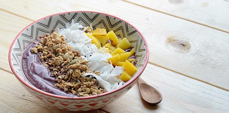 Açai bowl coco mangue