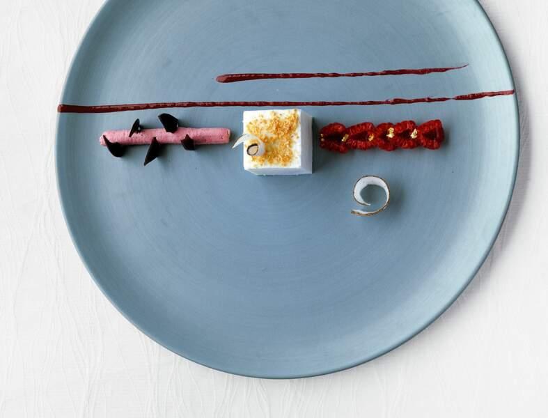 Recette légère : Blanc-manger à la noix de coco et aux éclats de chocolat