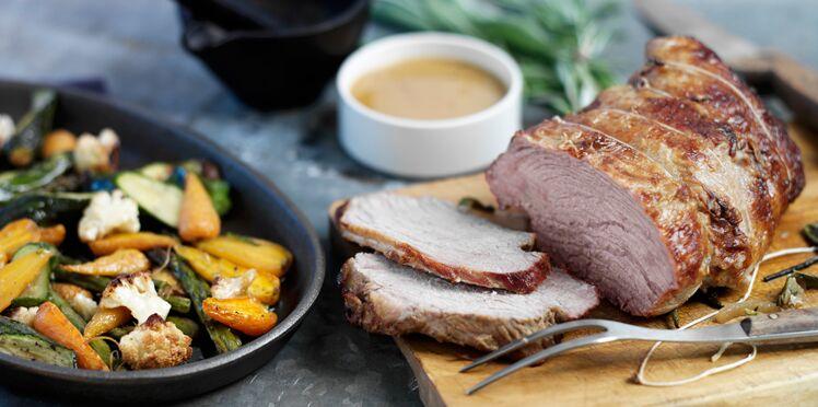 Comment réussir la cuisson du rôti de veau ?
