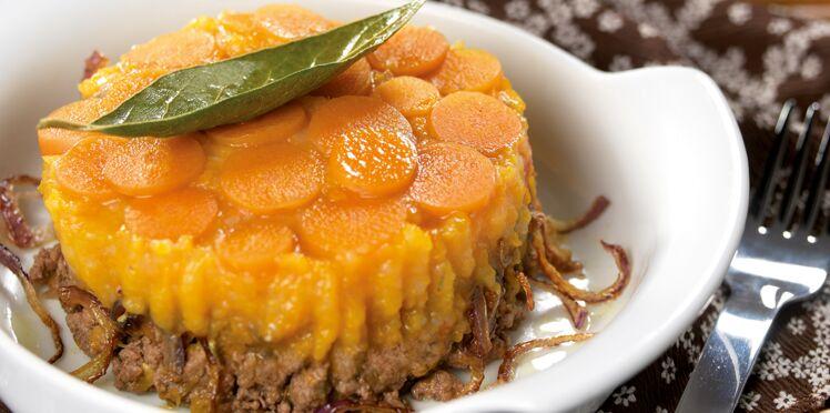 Parmentier aux carottes