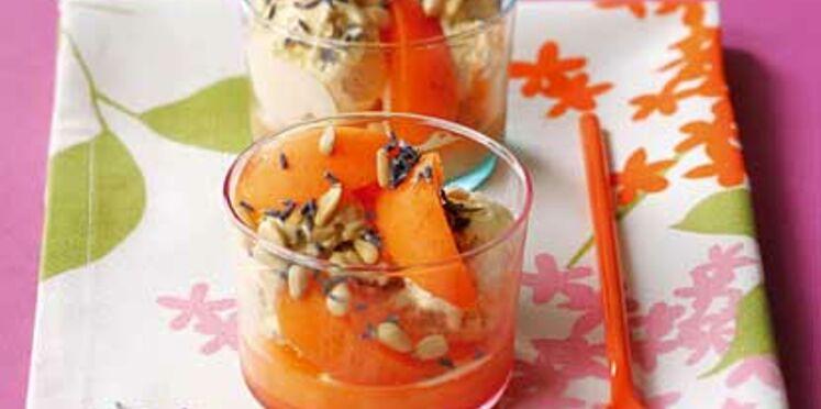 Fraîcheur de lavande à l'abricot