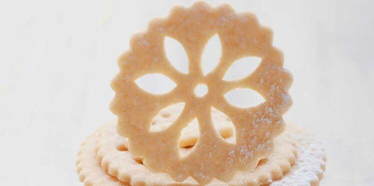 Biscuits vanillés dentelle