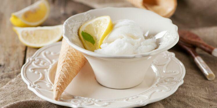 Crème glacée sans sorbetière