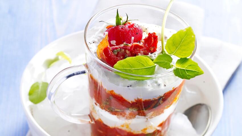 Tiramisu à la tomate