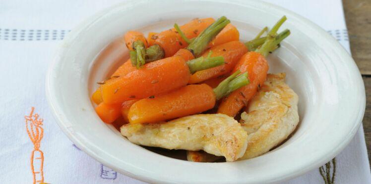 Poulet carottes