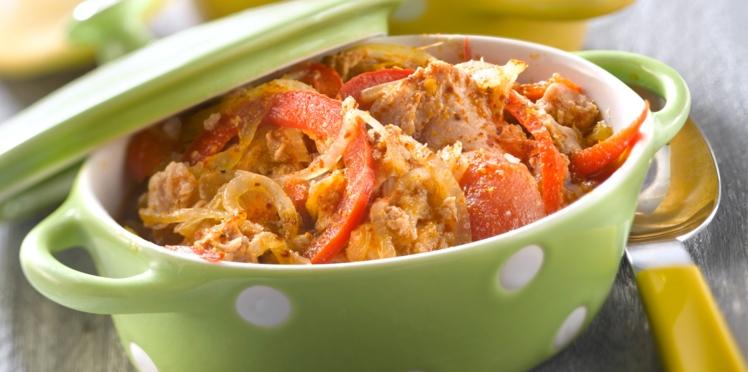 Thon frais à la tomate