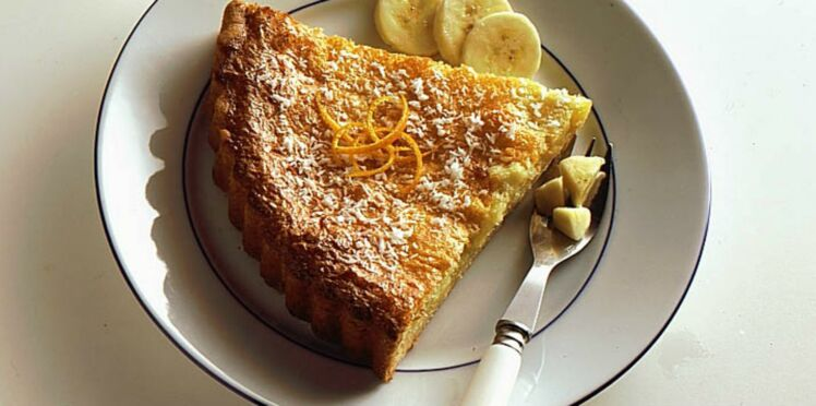 Gâteau coco-bananes