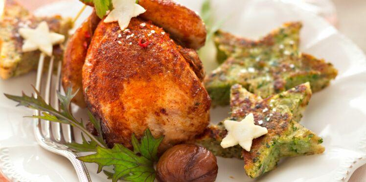 Les cailles frites, pain perdu de châtaigne d'Anne Alassane