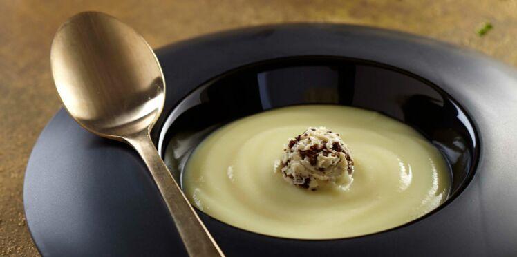 Velouté de Rattes du Touquet au beurre de truffe