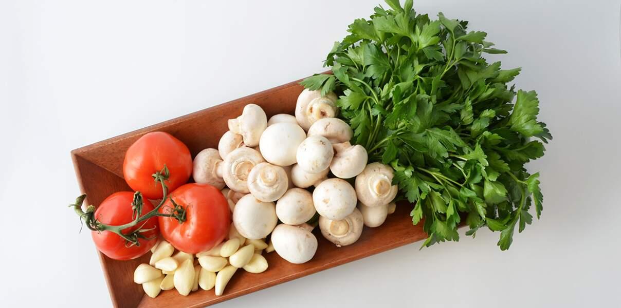 Sauce tomate aux champignons