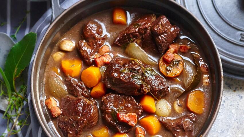 Bœuf bourguignon traditionnel