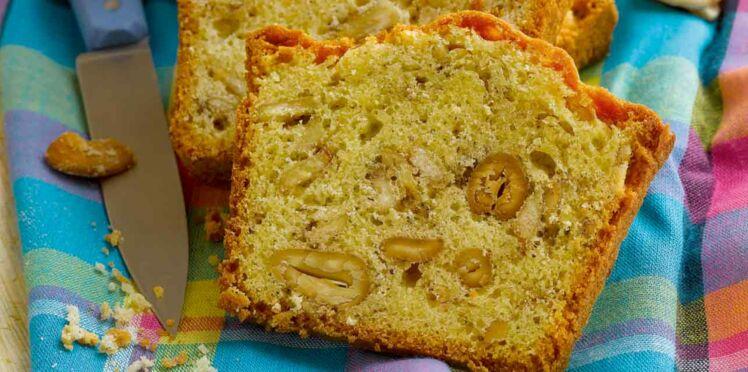Cake de Sophie Dudemaine aux épices, à la banane et aux figues