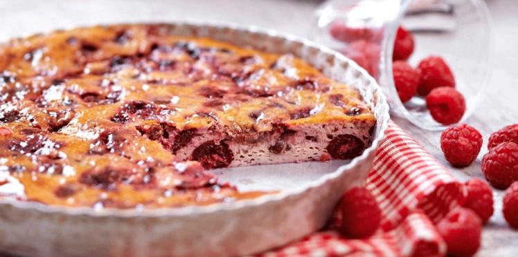 Dessert allégé : clafoutis vanille et fruits rouges