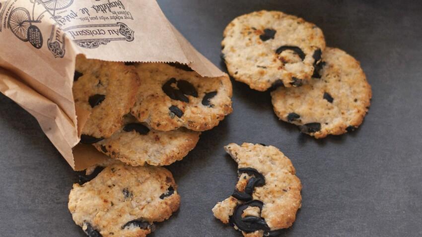 Cookies-repas au chèvre et flocons d'avoine