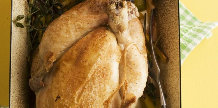 Recette de poulet rôti