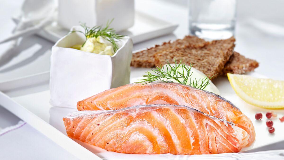 Gravlax de saumon facile