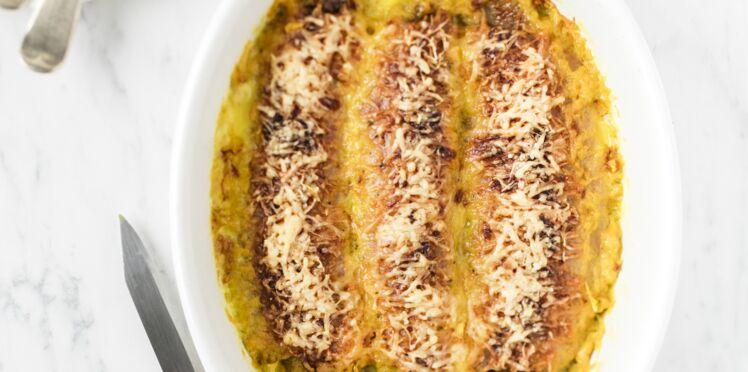 Gratin de banane au curry