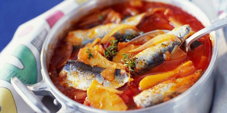Bouillabaisse de sardines