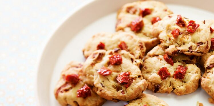 Cookies d'endives aux tomates séchées