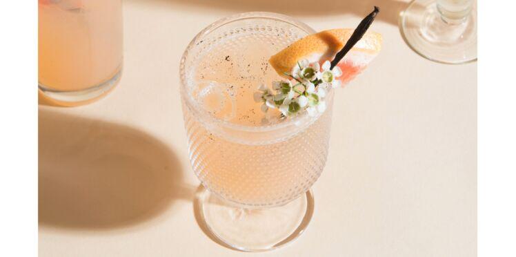 Cocktail crémant zeste exotique