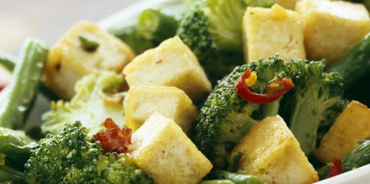 Sauté de tofu au brocoli