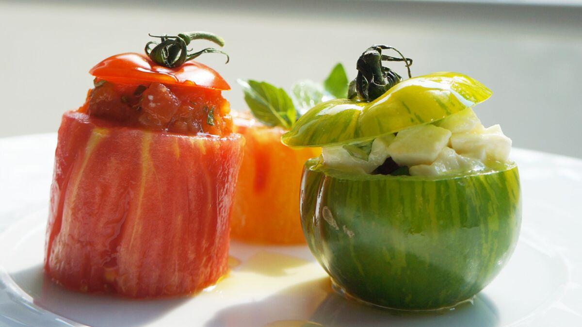 Les tomates farcies extraorodinaires