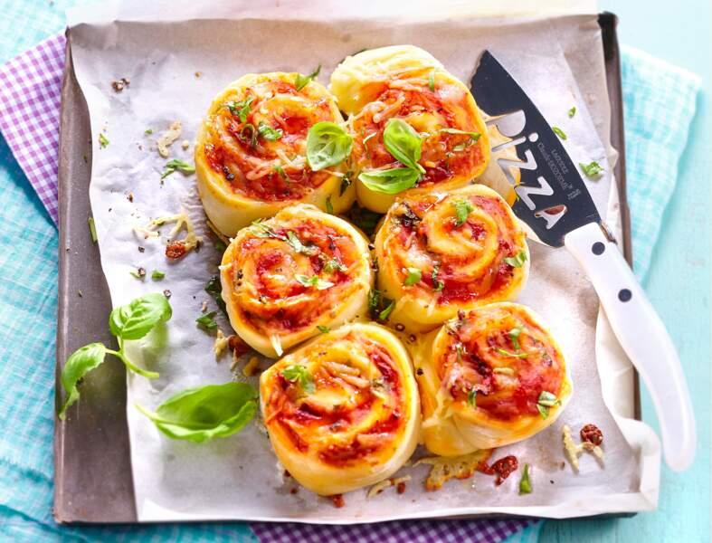 Pizza rolls à la napolitaine