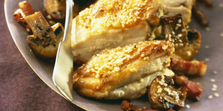 Filet de poulet campagnard