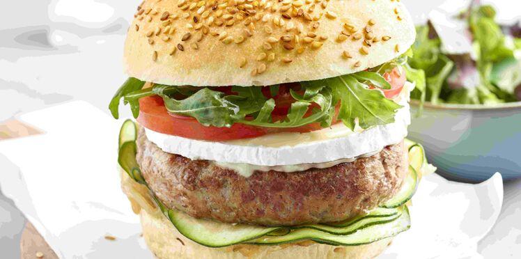 Hamburger de veau et ses légumes du soleil