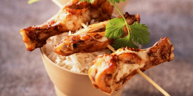 Ailerons de poulet au parfum d'Asie