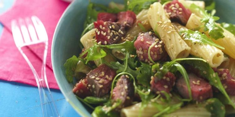 Salade de bœuf aux penne