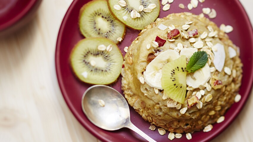 Bowl cake pour un petit déjeuner survitaminé