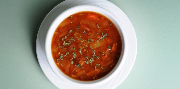Soupe à l'oignon et au céleri