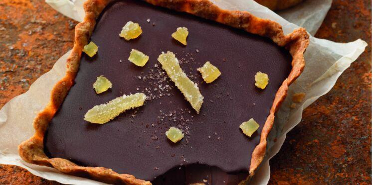 Tartelettes choco-gingembre