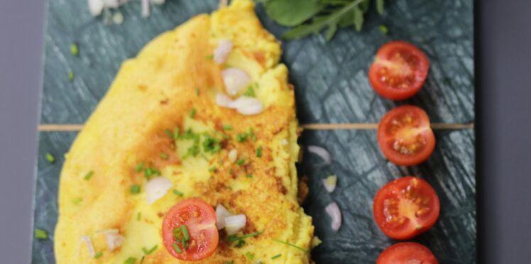 J'ai testé… l'omelette sans œufs !