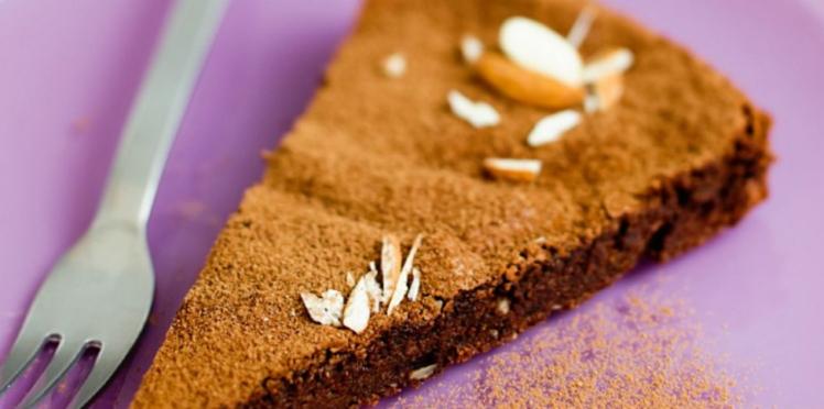 Moelleux au chocolat et aux amandes