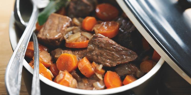 Bœuf-carottes diététique