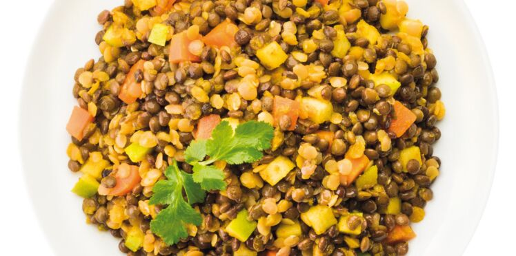 Salade aux 3 lentilles CookedBy Dorothée