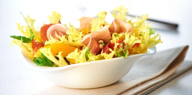 Salade d'agrumes et friseline®