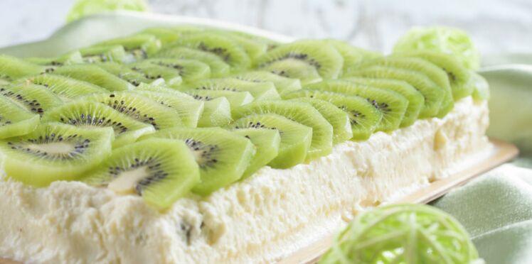 Clafoutis kiwis-pomme