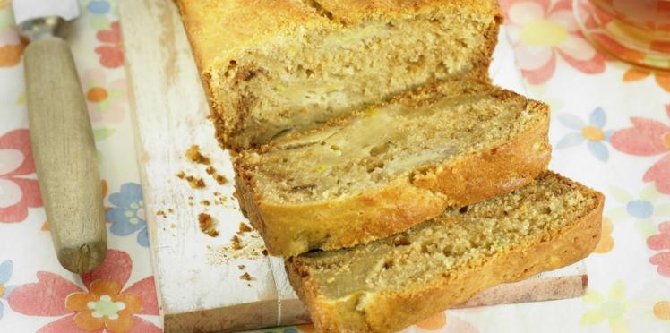 Cake à la banane et au yaourt léger et moelleux