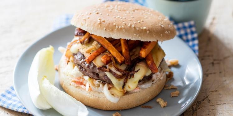 Burger au maroilles