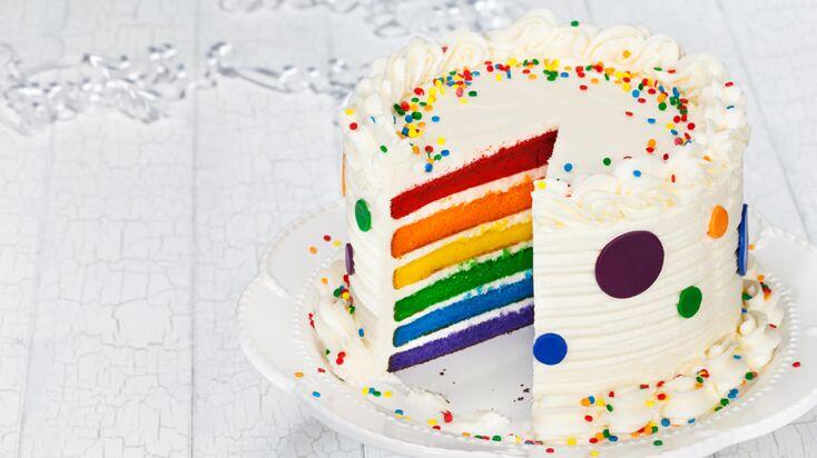 Vidéo : un gâteau d'anniversaire arc-en-ciel pour fille ou garçon