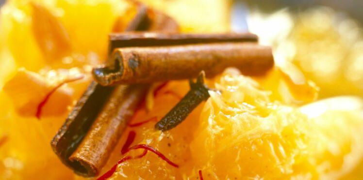 Salade de clémentines à la fleur d'oranger