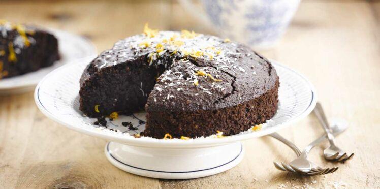 Gâteau chocolat coco