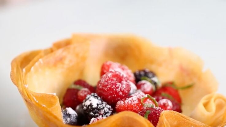 Vidéo : la recette des craquants aux fruits rouges