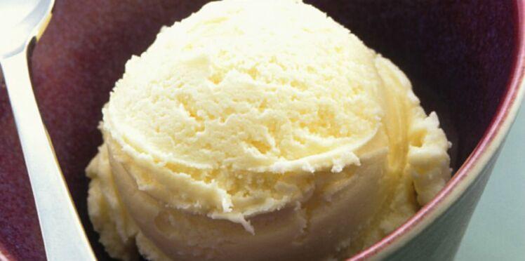 Glace à la vanille express