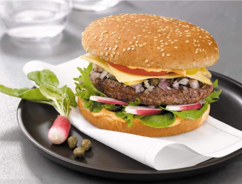 Hamburger aux radis
