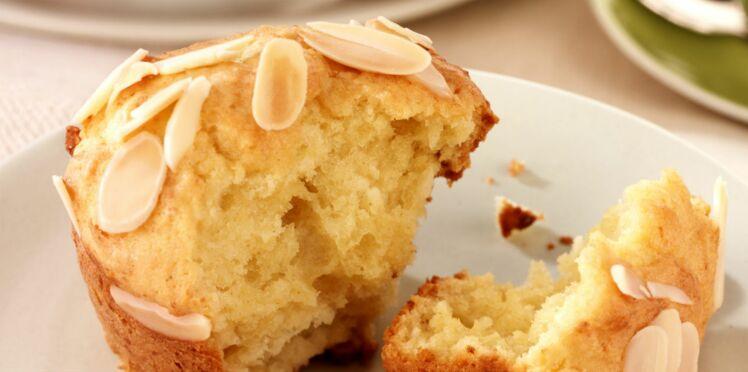 Muffins aux amandes et à la fleur d'oranger