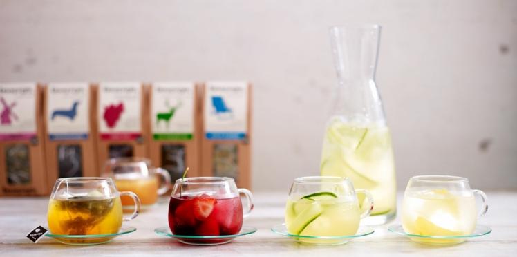 Thé glacé aux fruits frais